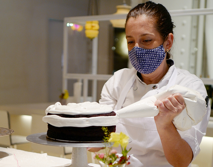 Chef Karen DeMasco. Photo courtesy of bakery by abc
