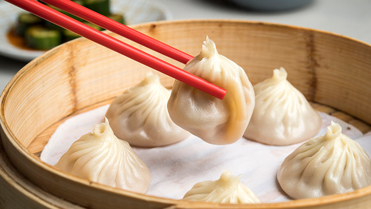 Pinch Chinese's xiaolongbao. Photo by Evan Sung, courtesy of Pinch Chinese