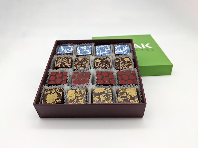Kokak Chocolates' Mother's Day pies, coffee, and tea collection. Photo courtesy Kokak Chocolates