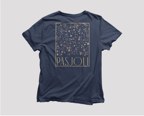 Pasjoli T-shirt. Photo courtesy Merch 4 Relief