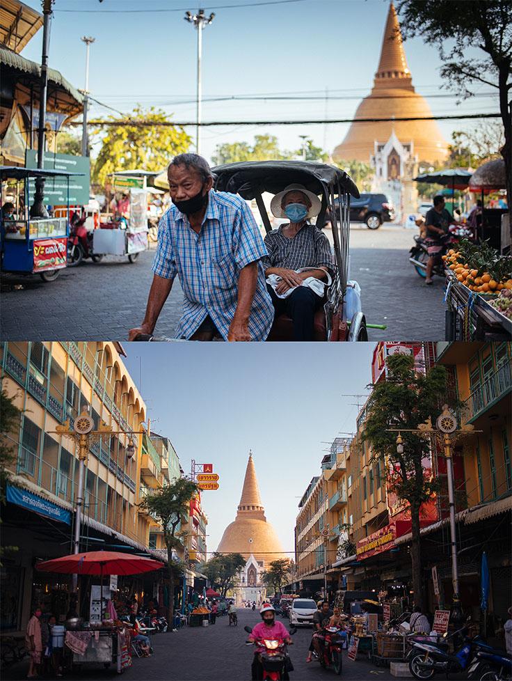 An afternoon in Nakhon Pathom. (© Anuwat Senivansa Na Ayudhya / MICHELIN Guide Thailand)