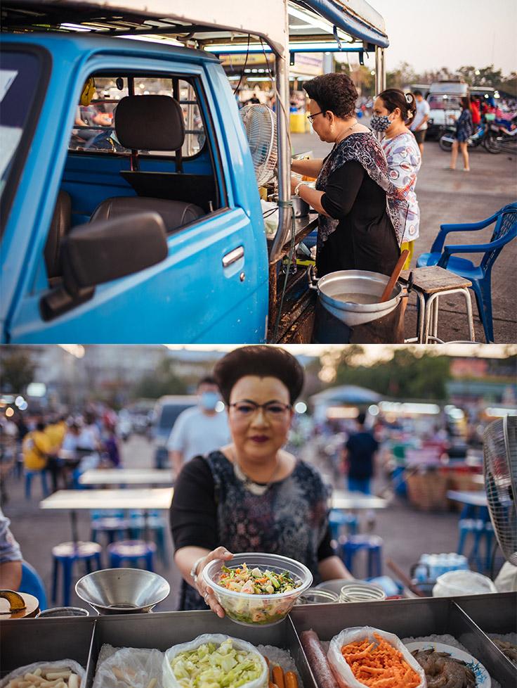Yam yod laem.  (© Anuwat Senivansa Na Ayudhya / MICHELIN Guide Thailand)