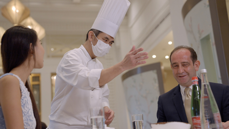 Leong believes in taking the time to craft holistic dining experiences for his guests.