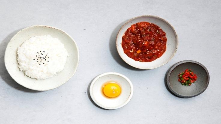 양념게알비빔밥 ⓒ Gebangsikdang