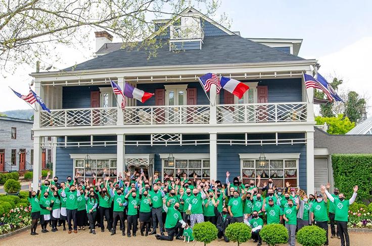 The Inn at Little Washington team. Photo courtesy of The Inn at Little Washington