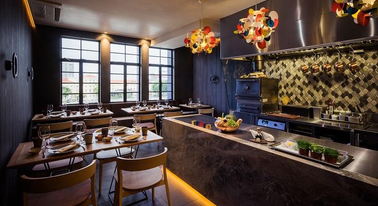 Interiors of Braci restaurant (image: ilLido Group)
