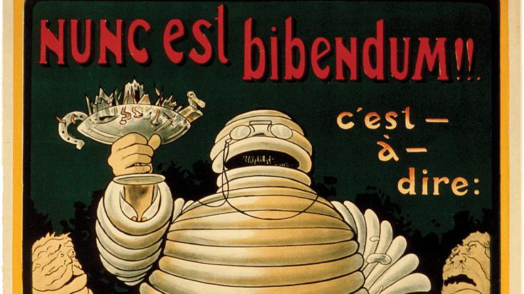 Le Bibendum des origines. ©MICHELIN