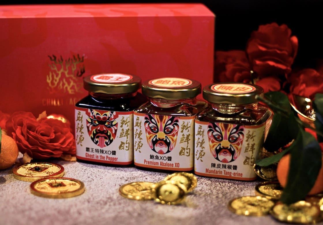 Chilli Fagara's artisanal condiments (Photo: courtesy of Chilli Faraga)