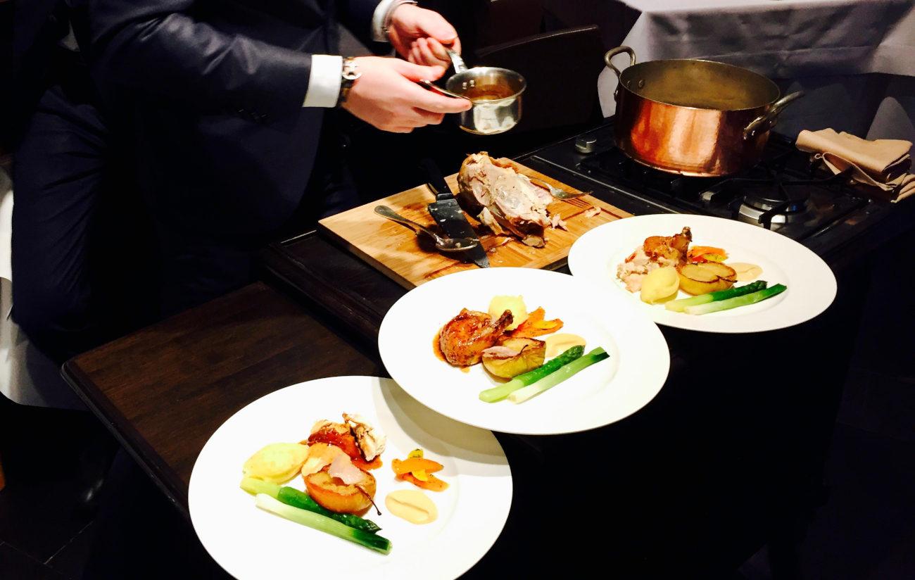 La cuisine traditionnelle d'Eric Fernez ©Carafe.be