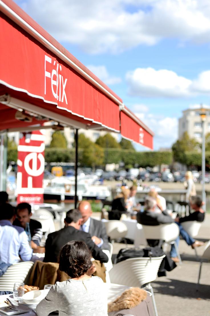 La terrasse de Félix, toujours prise d'assaut aux beaux jours © Gérard / Felix
