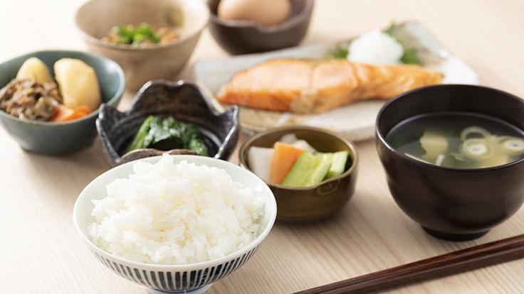 An example of Japanese breakfast. Photo © kuppa_rock/iStock