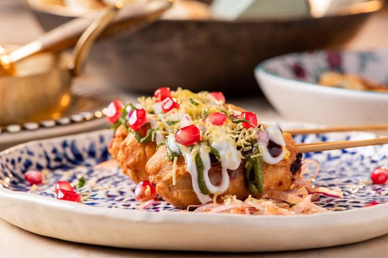 Chaat's beetroot kulfi kebab (Photo: Courtesy of Chaat)