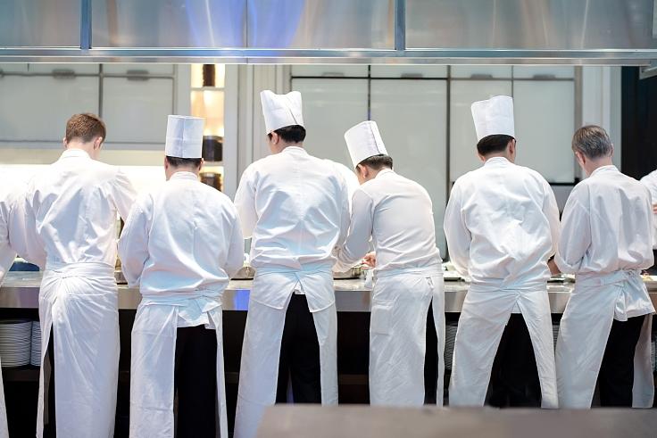 Chefs at work. (© Shutterstock)