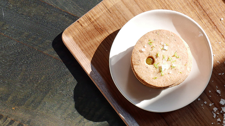 Té Company's pineapple linzer. Photo courtesy of Té Company