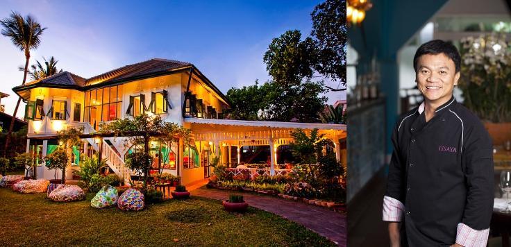 ร้านอิษยา สยามมิสคลับ ที่คุณเฟรดทำร่วมกับเชฟเอียน-พงษ์ธวัช เฉลิมกิตติชัย (© Issaya Siamese Club)