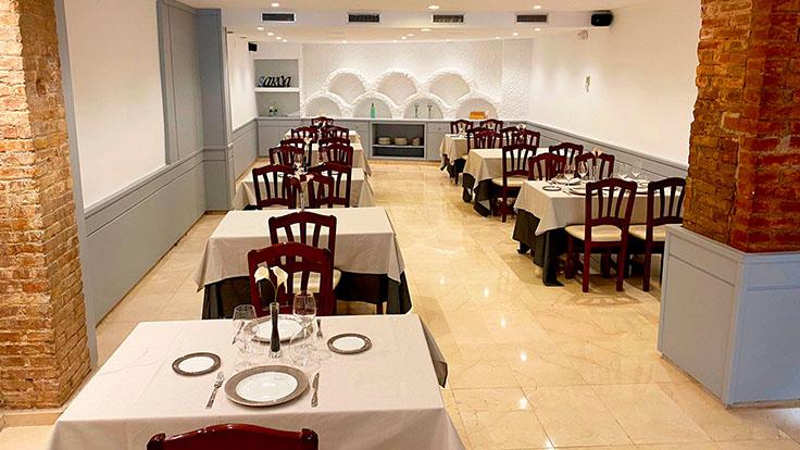 Vista del comedor. © Saroa restaurant/Saroa