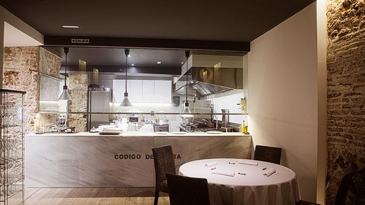 Mesa junto a la cocina. © Código de Barra/Código de Barra