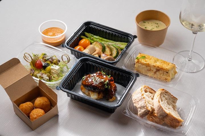 一星餐廳渥達尼斯磨坊因應疫情,首次推出外帶餐盒與在家享用的套餐。(圖片:渥達尼斯磨坊)