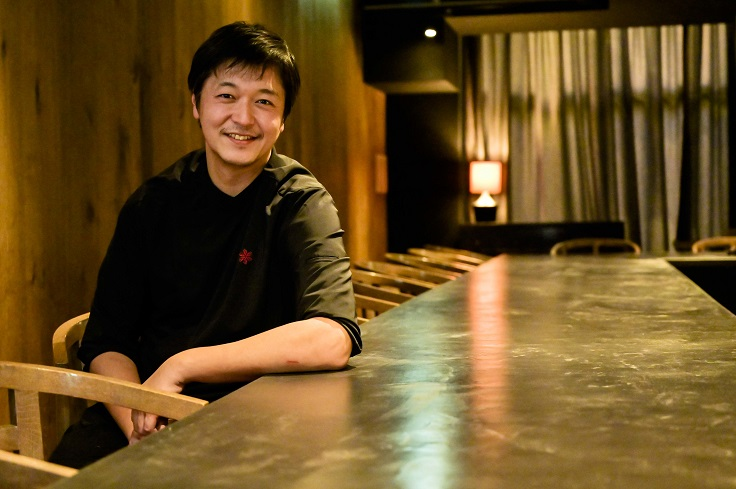 Chef Hiroyasu Kawate of Florilège