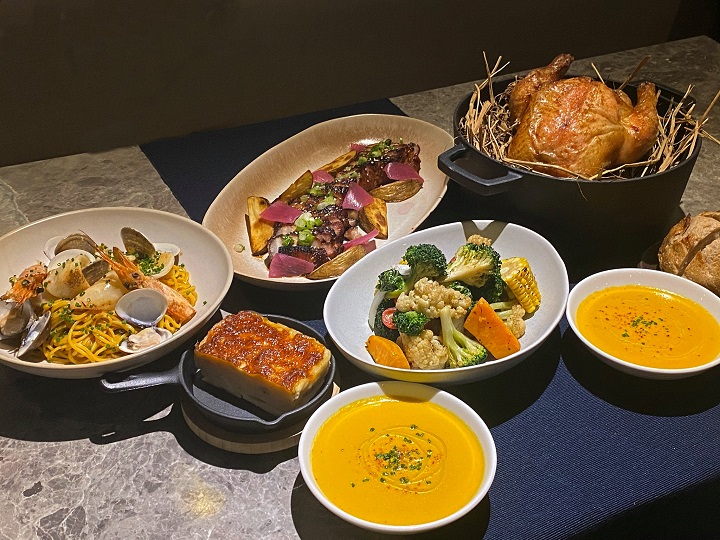 ULV 推出的家庭分享餐。(圖片取自 ULV Restaurant And Bar 臉書)