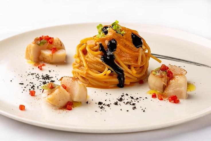 Pasta creation at Lenzi Tuscan Kitchen. (© Lenzi Tuscan Kitchen)