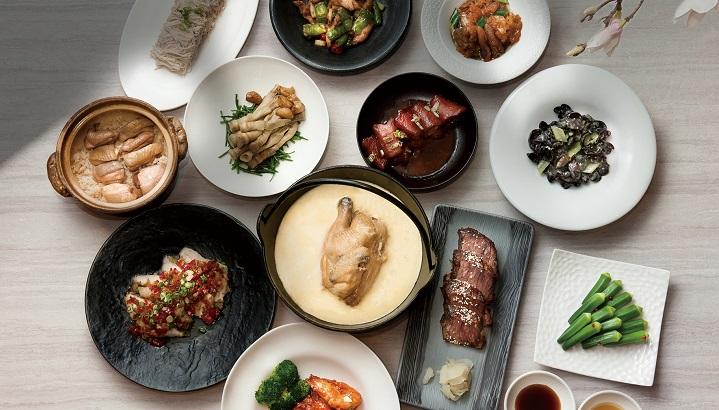 二星餐廳請客樓推出「米其林四人餐」。(圖片:台北喜來登大飯店提供)