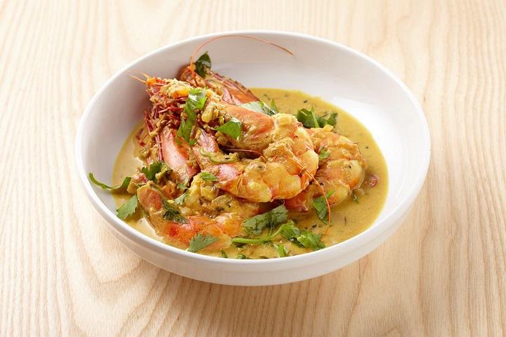 想想廚房的鮮蝦黃咖哩。(圖片取自想想廚房臉書)。