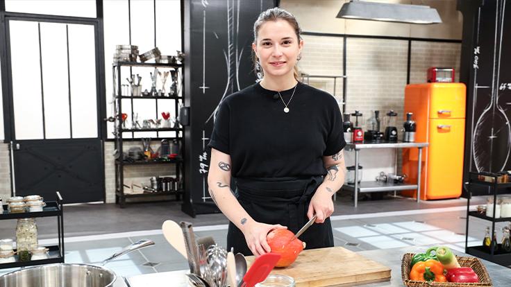 Chloé Mainguy, finaliste de Top Chef 2021 ©Marie Etchegoyen/M6