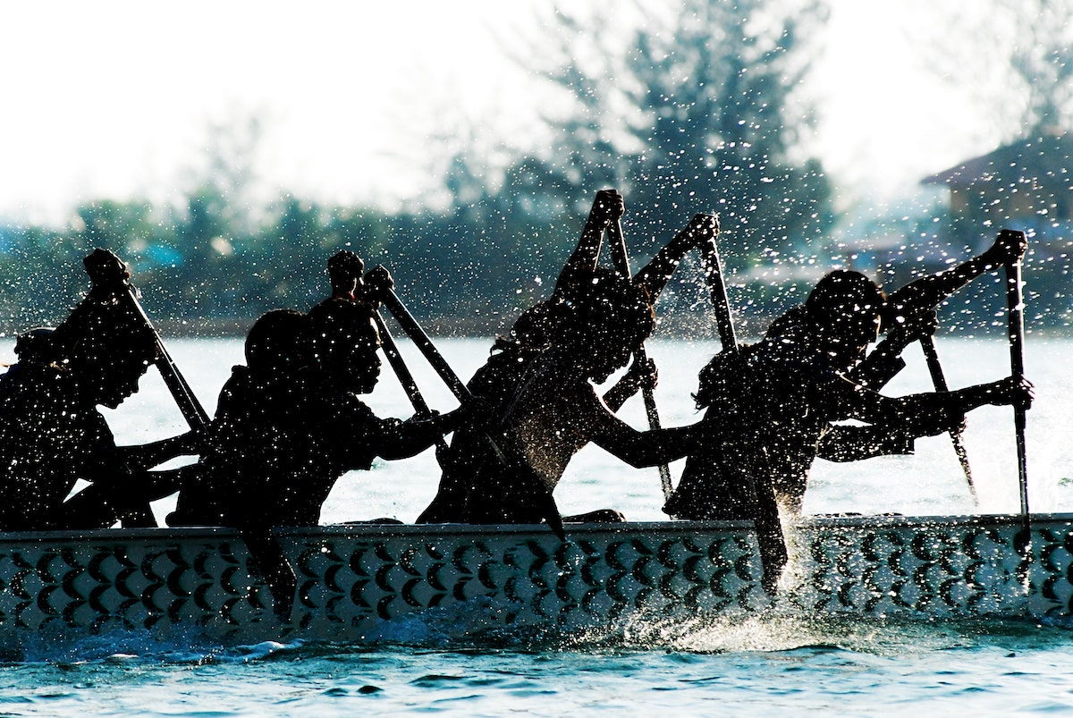 Dragon boat racing is a traditional custom during Dragon Boat Festival (Photo: ©Shutterstock)