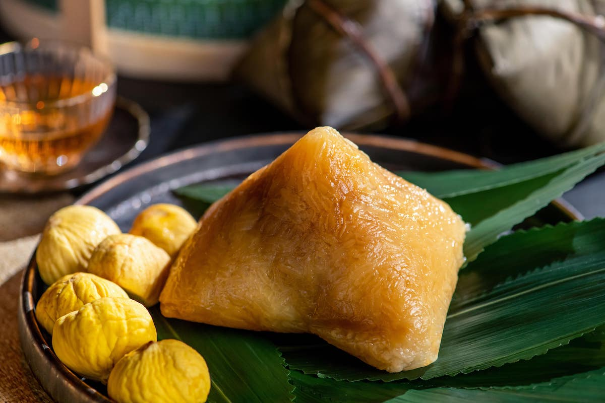 Steamed sweet dumpling with chestnut from The Legacy House (Photo: Courtesy of The Legacy House)
