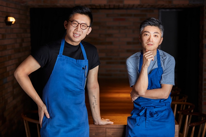 MUME 新任主廚 Ernest (圖左)與創辦人 Richie。