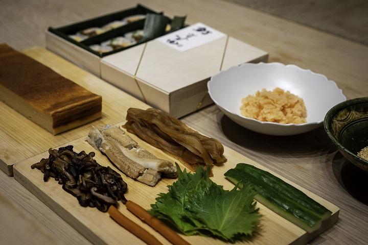 鮨增田推出外帶壽司「鮨 增田の太卷」。(圖片:微風集團提供)