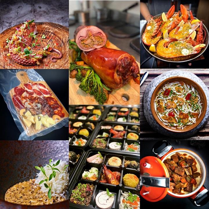 隱丹廚推出各式外帶料理。(圖片提供:隱丹廚)