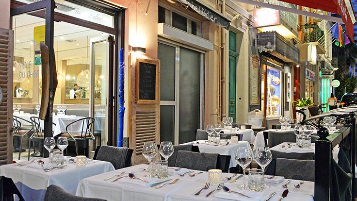 La terrasse de la Table du chef © La Table du chef