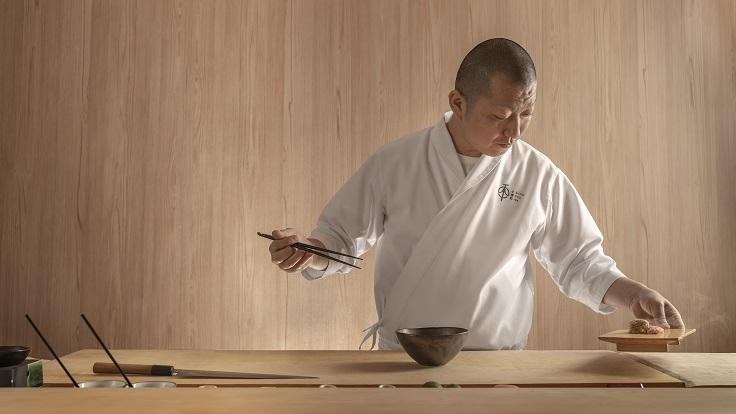 Head chef Kazumine Nishida of Shoukouwa (Image: Shoukouwa)
