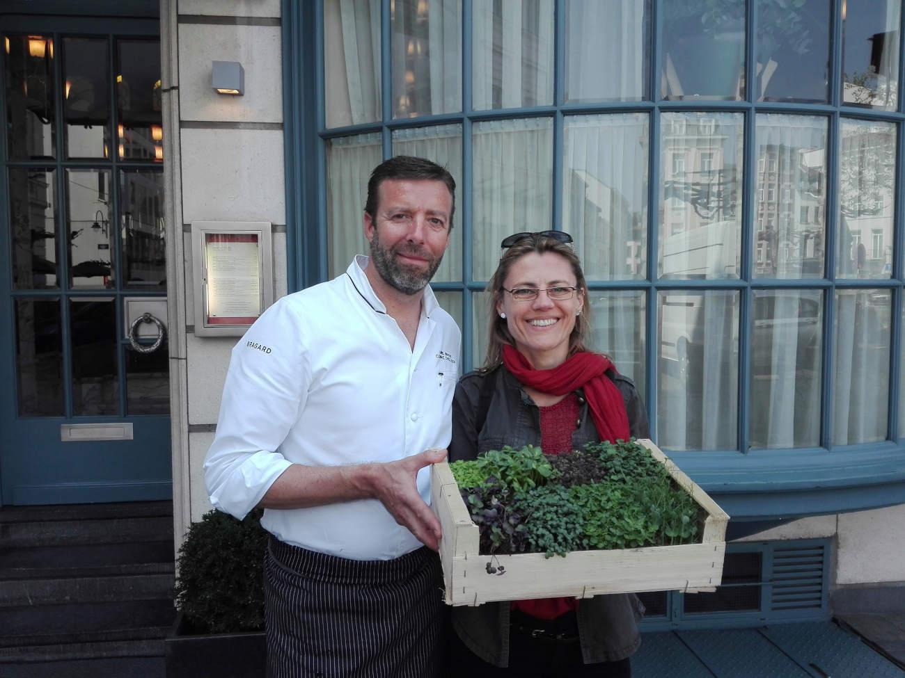 Anne Colonal et Lionel Rigolet du Comme chez Soi ©Urbi Leaf