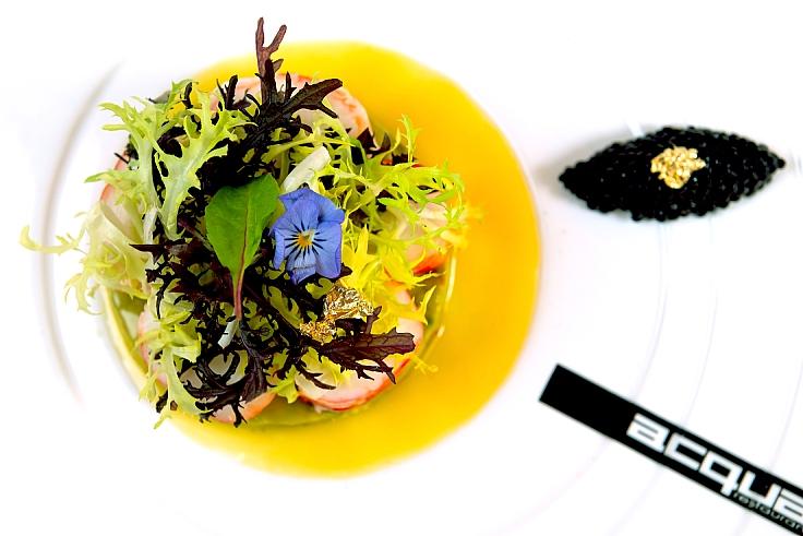อาหารอิตาเลียนในแบบของเชฟอาเลสซานโดร (© Acqua)