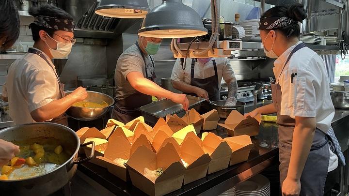 Gēn Creative 承諾七月開始每週捐出 150 份餐點。(圖片由 Gēn Creative 提供)