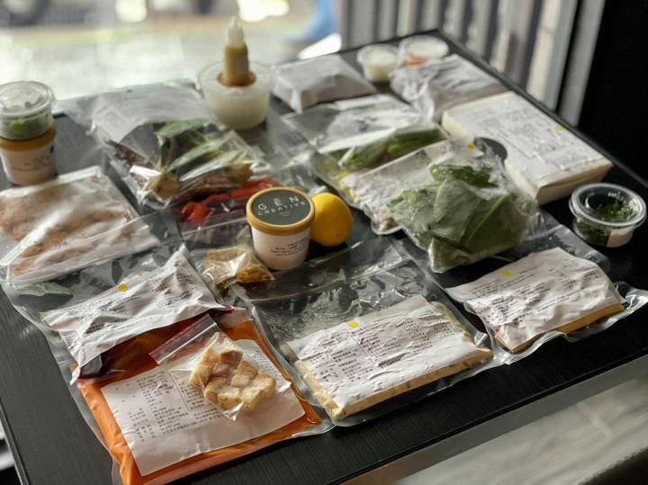 在家 GĒN 著吃外帶料理包組合。(圖片取自 Gēn Creative 臉書)