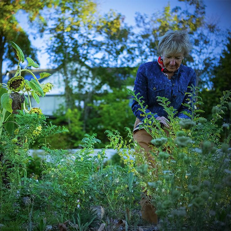 Le Jardin du Clos des Sens ©Matthieu Cellard