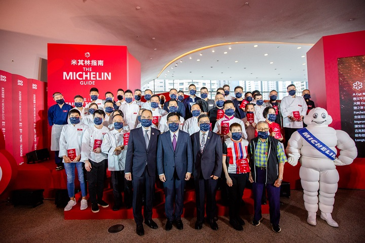 MICHELIN Guide Taipei & Taichung 2020 selection - chefs from starred restaurants