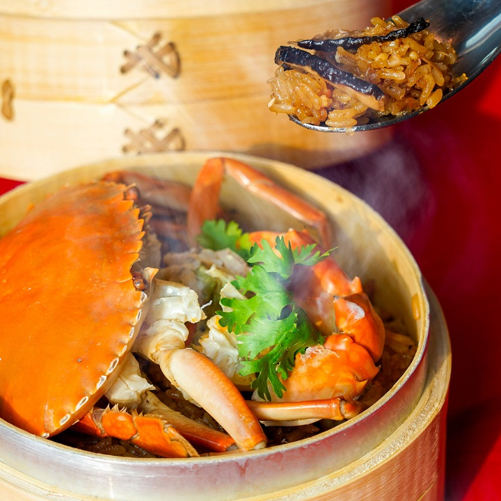 Moon Pavilion offers authentic Taiwanese cuisine with modest portions and delicate flavours.