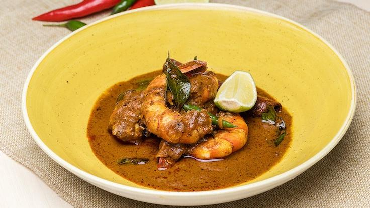 Devilled Prawn Curry by Chef Rishi Naleendra