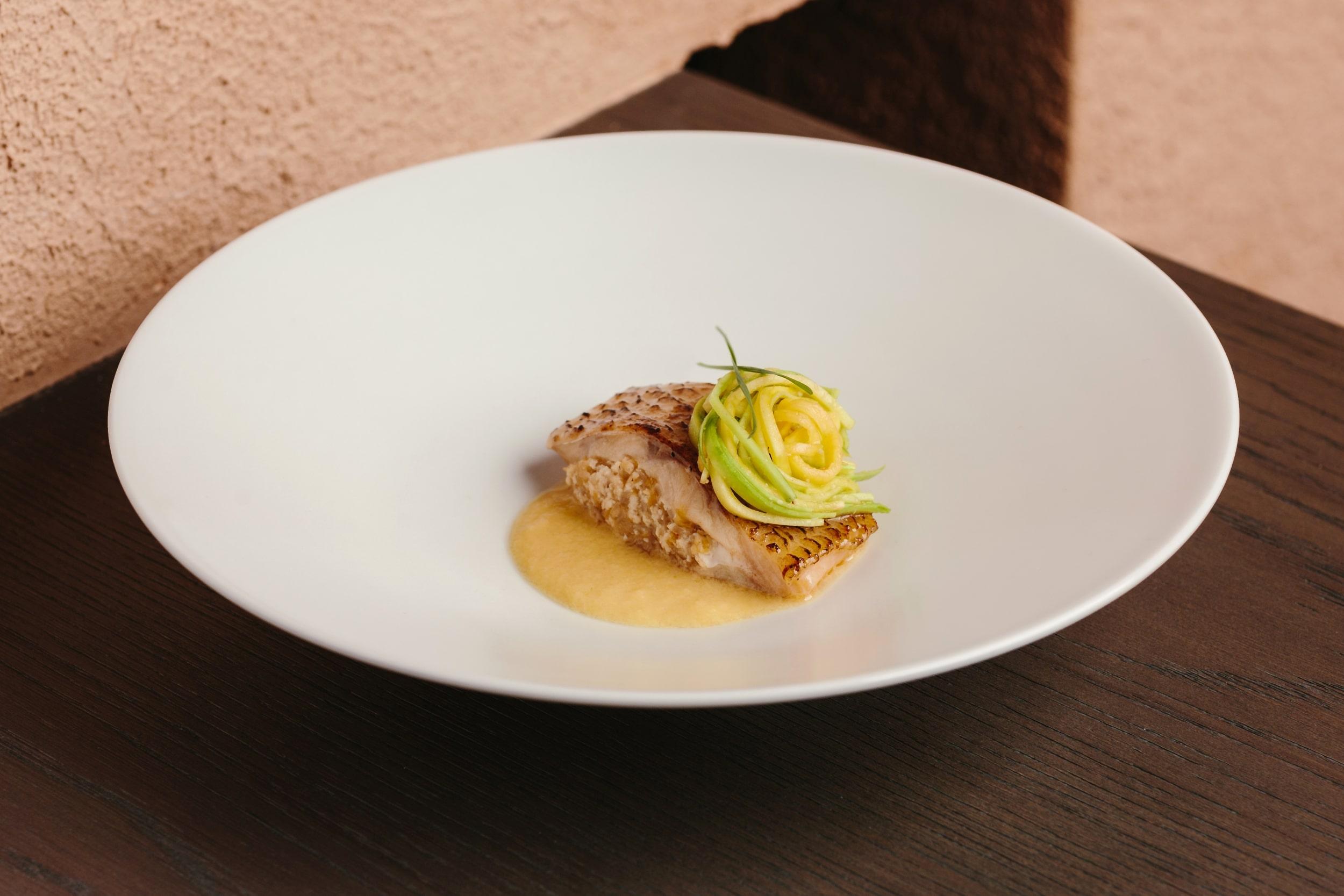 Fish Mandu from Hansik Goo's new tasting menu. (Photo: Courtesy of Hansik Goo)