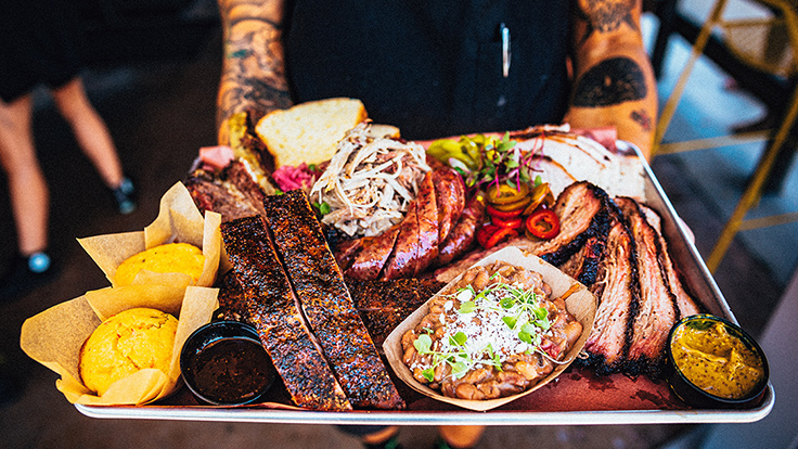 Heritage Barbecue. Photo by John Troxell, courtesy of Heritage Barbecue