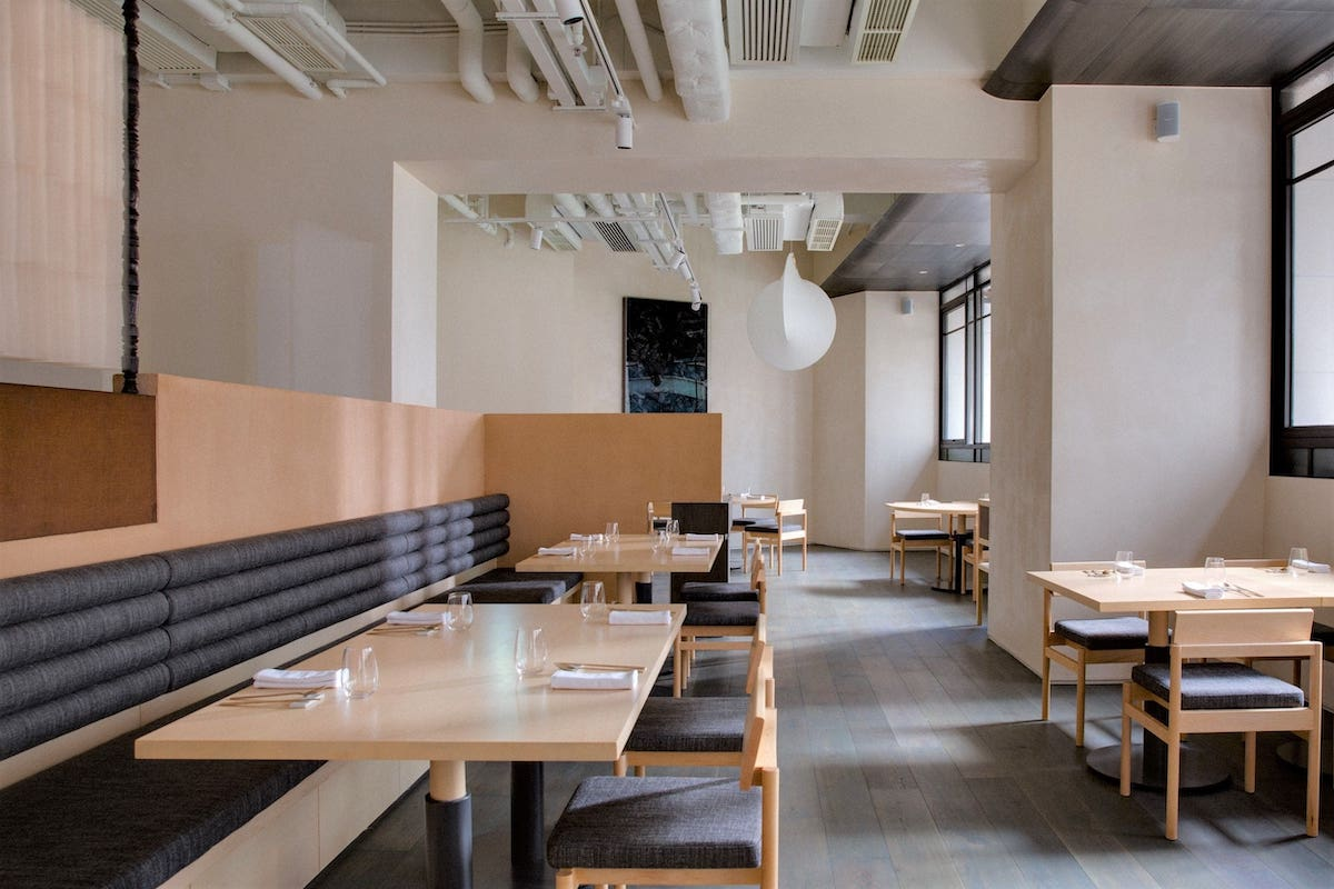 The interior design of Hansik Goo 2.0 was inspired by bu-eok, or the traditional Korean kitchen. (Photo: Courtesy of Hansik Goo)