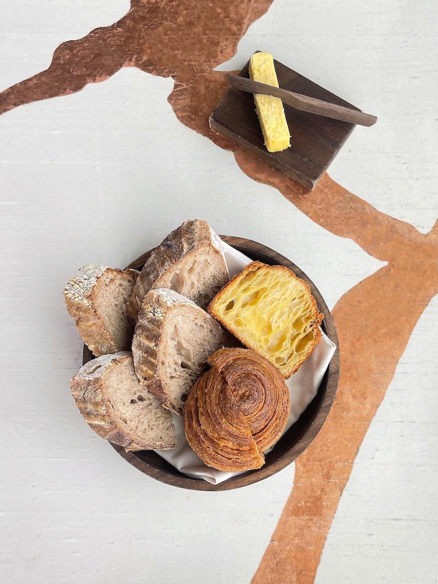 homemade sourdough bread and homemade brioche feuillete5--ecriture-two-michelin-stars.jpg