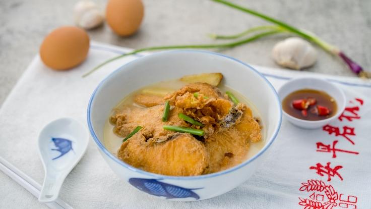 XO Fried Batang Fish Soup