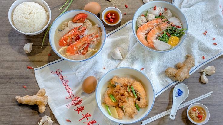 Various fish soup dishes at Jun Yuan House of Fish