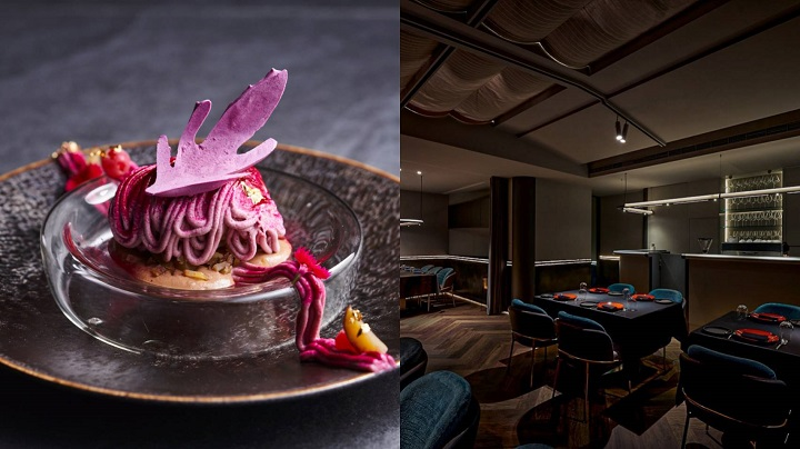 The interiors of De Nuit are low-key and elegant, with a calming design that evokes the night-time. The young kitchen team is professional and combines the essence of French cuisine with seasonal and local ingredients to present unique and ingenious dishes.